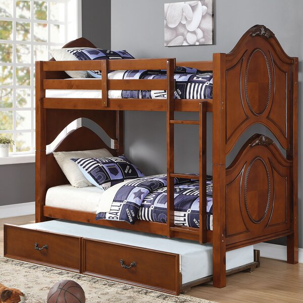 Saffold Twin Over Twin Bunk Bed by Harriet Bee