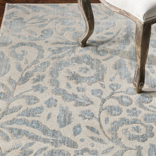 Waynesboro Hand-Woven Mist Area Rug by August Grove