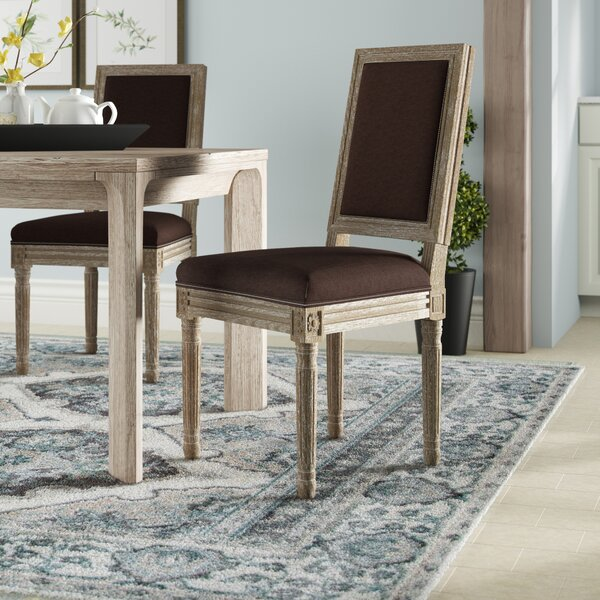 Viveiros Upholstered Dining Chair (Set of 2) by Ophelia & Co.