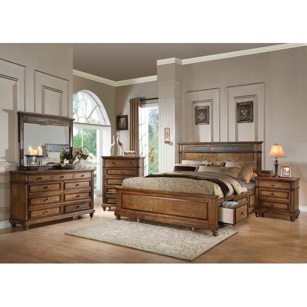 Saul Storage Panel Configurable Bedroom Set by Millwood Pines