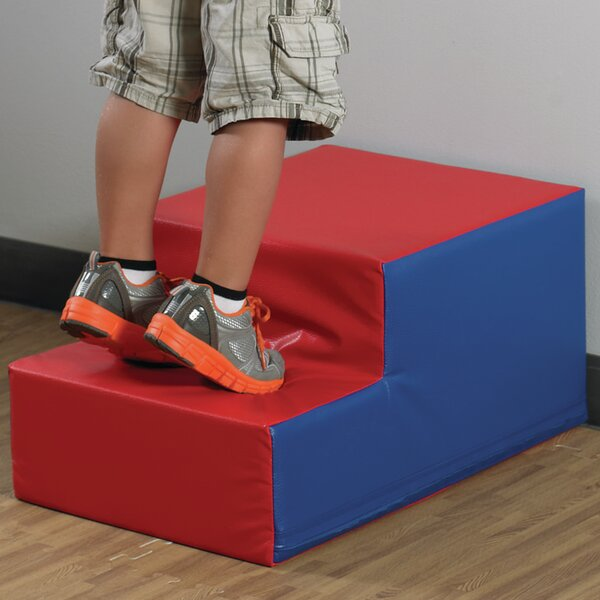 Soft Step Stool by Children's Factory