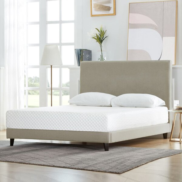 Terence 8 inch Medium Gel Memory Mattress by Alwyn Home