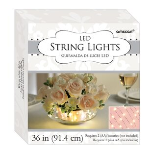 Read Reviews LED 18 Light Fairy String Lights By Amscan