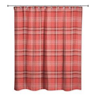 Comparison Patridge Plaid Shower Curtain ByGracie Oaks