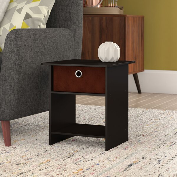 Brigette End Table With Storage By Ebern Designs
