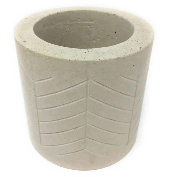 Hasler Concrete Pot Planter by Bungalow Rose