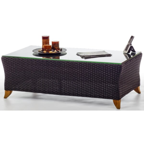 Rattan Coffee Table by All Things Cedar