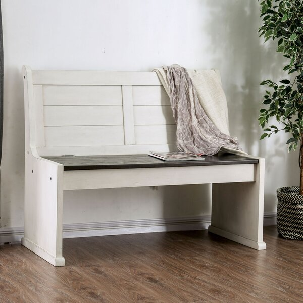 Gerdie Wood Storage Bench by Rosalind Wheeler