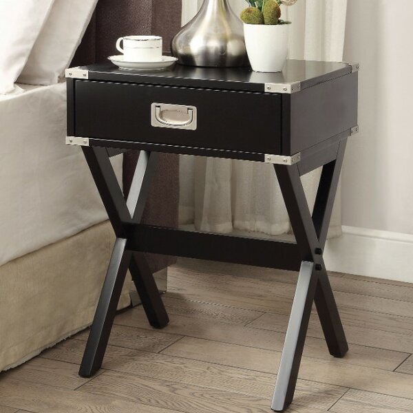 Battista End Table by Wrought Studio