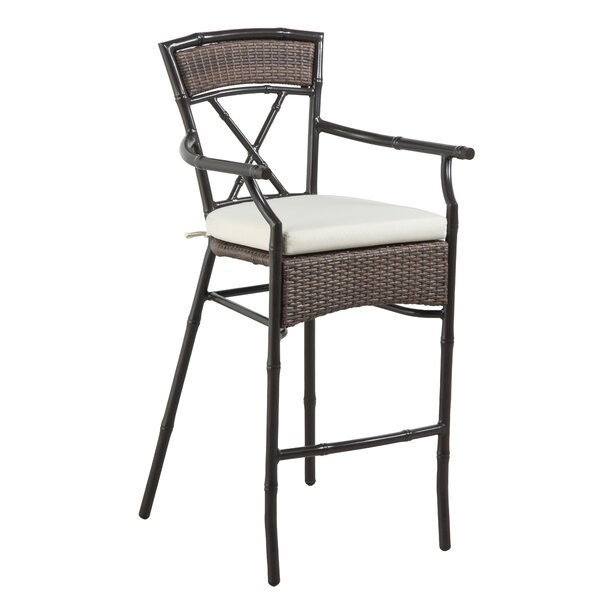 Rum Cay 30 Patio Bar Stool by Panama Jack Outdoor