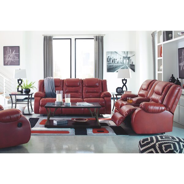 Camellia Reclining Configurable Living Room Set by Red Barrel Studio