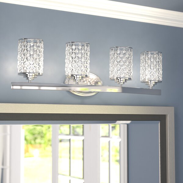Senters 4-Light Vanity Light by Willa Arlo Interio