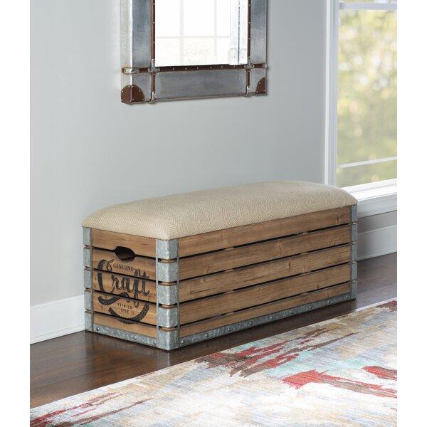 Marino Upholstered  Flip Top Storage Bench by Longshore Tides Longshore Tides
