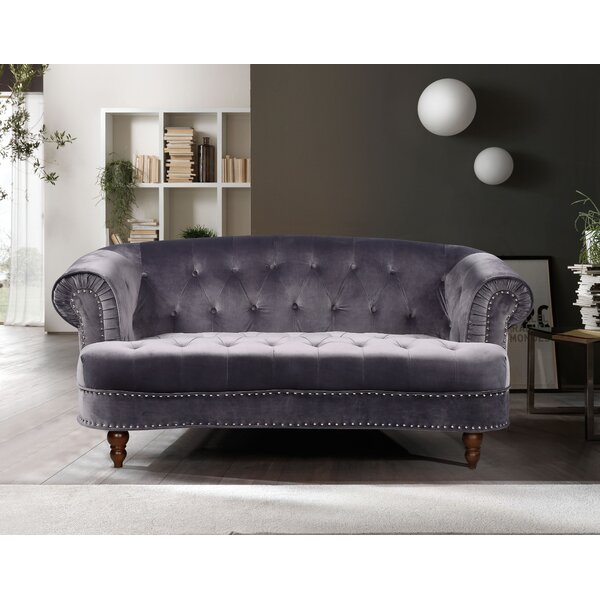 Perfect Brands Lambdin Chesterfield Loveseat by Mercer41 by Mercer41
