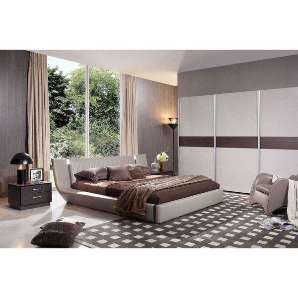 Andice King Upholstered Platform Bed by Orren Ellis