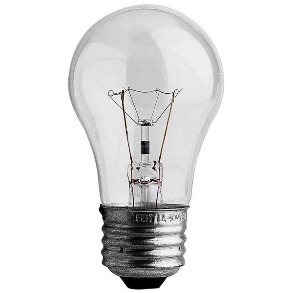 40W 130-Volt Incandescent Light Bulb (Pack of 4) by FeitElectric