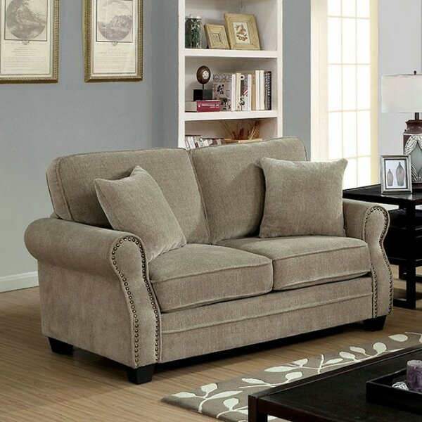 Robillard Transitional Loveseat by Charlton Home