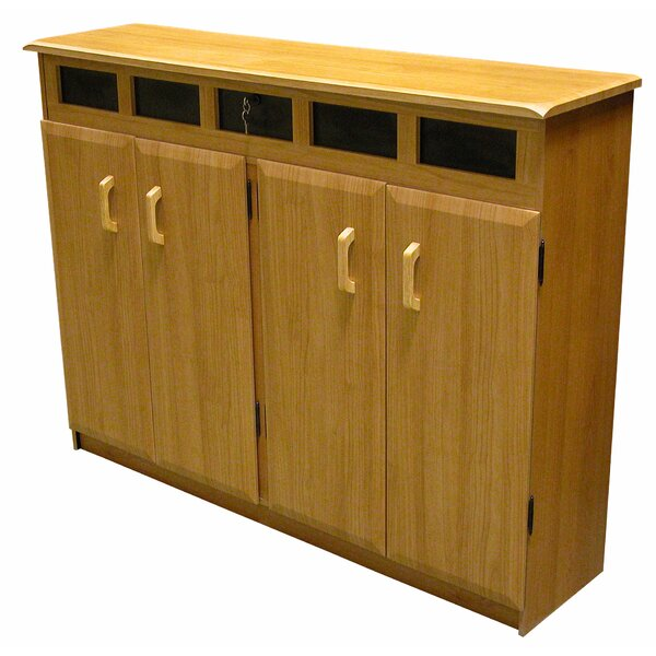 Top Load Multimedia Cabinet By Red Barrel Studio