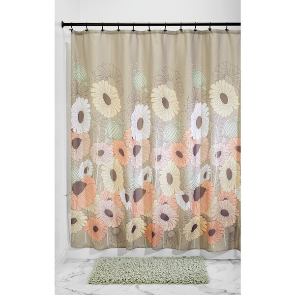 Wild Flowers Shower Curtain by InterDesign