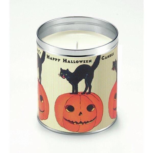 Happy Halloween Pumpkin Pie Scented Jar Candle by The Holiday AisleHappy Halloween Pumpkin Pie Scented Jar Candle by The Holiday Aisle