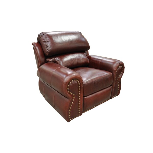Cordova Leather Wall Hugger Recliner by Omnia Leather
