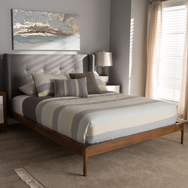 Bonnie Upholstered Platform Bed by Corrigan Studio