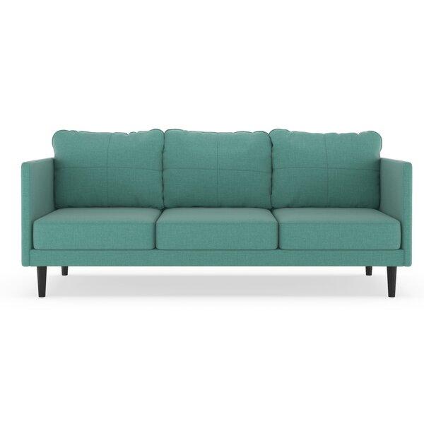 Rock Island Linen Weave Sofa by Brayden Studio