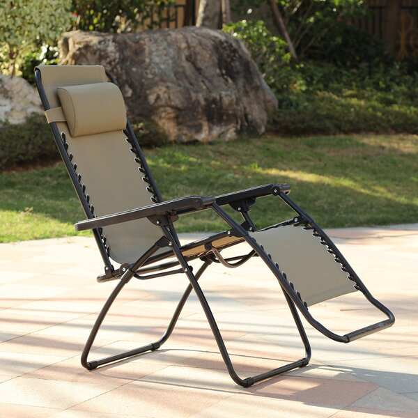 Seabrooks Reclining Zero Gravity Chair with Cushion by Red Barrel Studio Red Barrel Studio