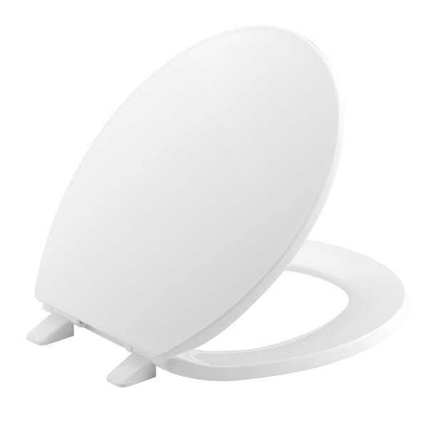 Archer Quick-Release Hinges Round-Front Toilet Seat by Kohler