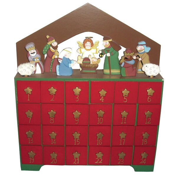 Nativity Advent Calendar by The Holiday Aisle