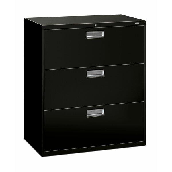 Brigade 600 Series 3-Drawer Vertical Filing Cabinet