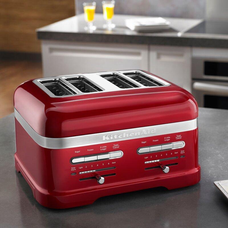 KitchenAid Pro Line 4 Slice Automatic Toaster & Reviews
