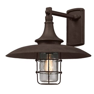 Bargain Humboldt 1-Light Outdoor Barn Light By Longshore Tides