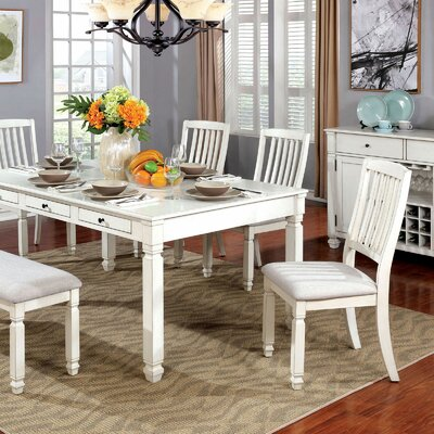 Dayse 6 Piece Breakfast Nook Dining Set Rosecliff Heights