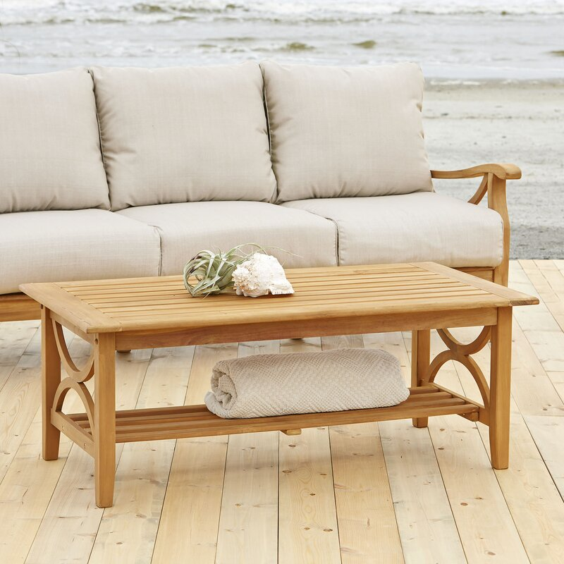 Birch Lane™ Brunswick Teak Coffee Table & Reviews | Wayfair
