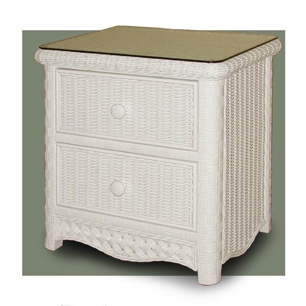 Nahua 2 Drawer Nightstand by Bay Isle Home