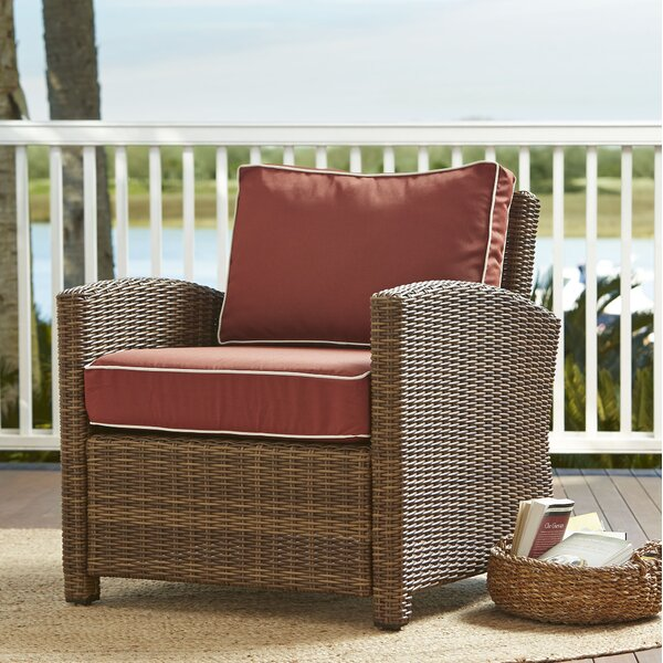 Lawson Patio Chair with Cushions by Birch Lane Heritage Birch Lane™ Heritage