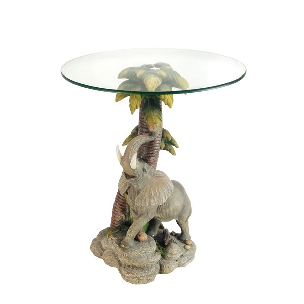 Mekhi End Table by World Menagerie