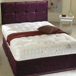Diamond Saron Pocket Sprung Divan Bed