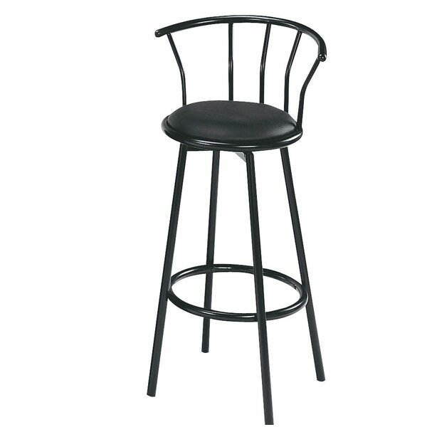 Albany 38 Swivel Bar Stool by Ivy Bronx