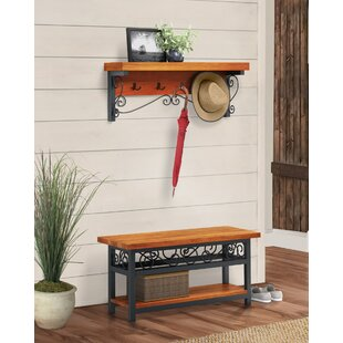 Coat Hook And Bench Set Wayfair