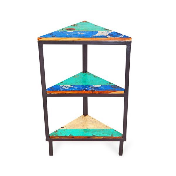 Semaphore Corner Unit Bookcase by EcoChic Lifestyles