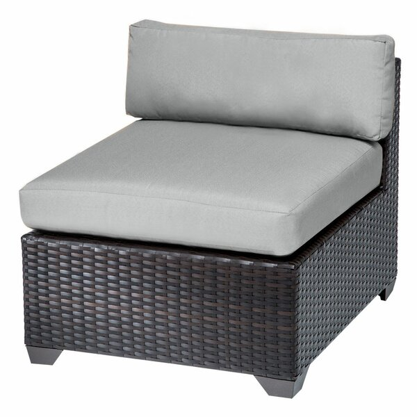 Medley Patio Chair with Cushions by Rosecliff Heights