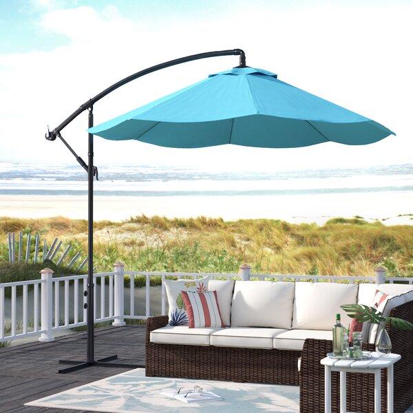 Vassalboro 10' Cantilever Umbrella By Breakwater Bay by Breakwater Bay Herry Up