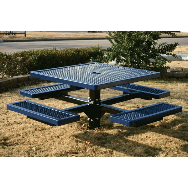 Square Picnic Table by Kidstuff Playsystems, Inc.
