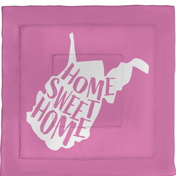 Virginia Home Sweet Single Reversible Comforter