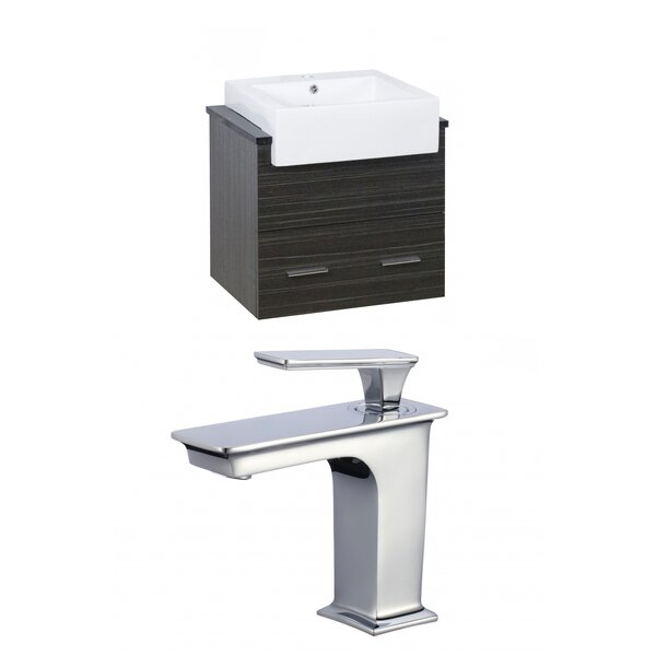 Alican 25 Wall-Mounted Single Bathroom Vanity Set