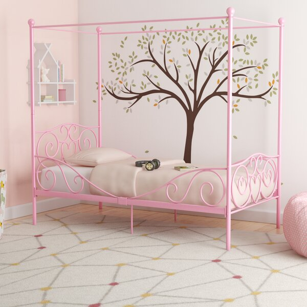 Biggerstaff Canopy Bed by Zoomie Kids