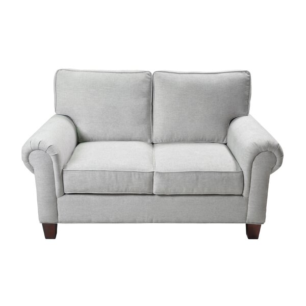 Zawacki Stationary Loveseat by Gracie Oaks