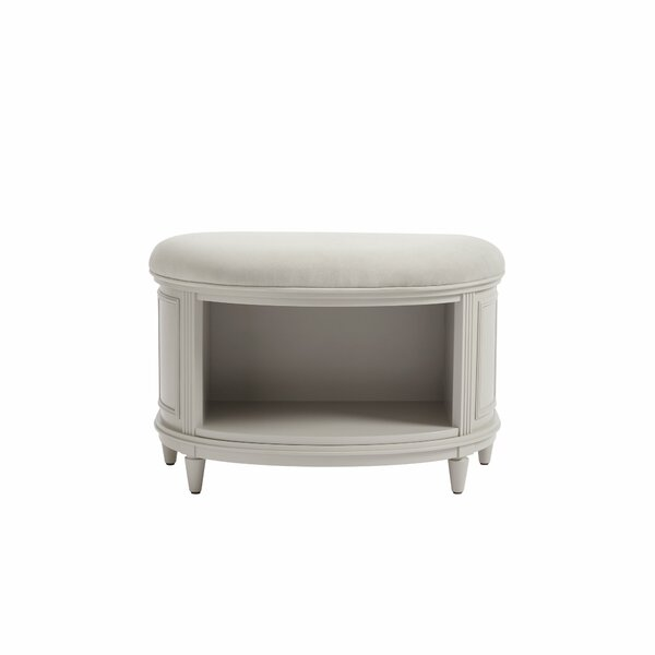 Clementine Court Upholstered Shelves Storage Bench by Stone & Leigh™ Furniture